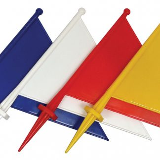 Marker Flag - blue, white, red or yellow-0