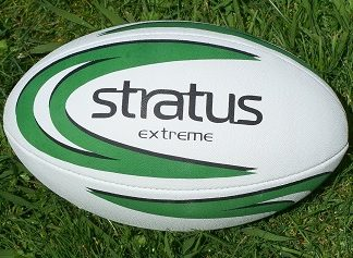 Stratus Extreme Rugby Ball - size 4-0