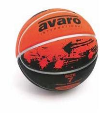 Avaro Match Deep-Wide Seam Basketball - sizes 6 & 7-0