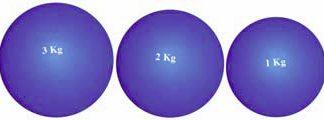 Indoor Rubber Shotput Vinex - 4 sizes-0