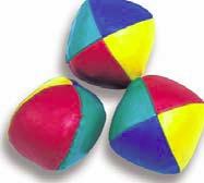Juggling Balls - vinyl, set of 3-0