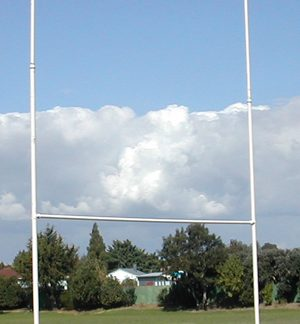Extension Rugby Posts Galvanised 3m - Intermediate-0