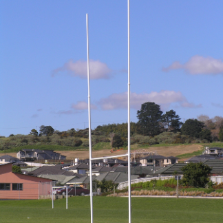 rugby goal posts