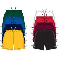Mitre Napoli Shorts - Gold, Size 6 & 8-0