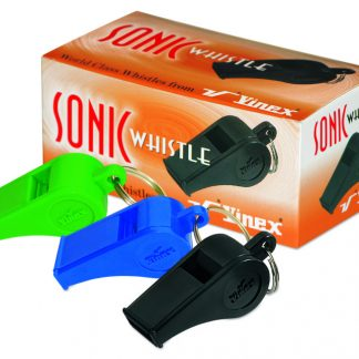 Plastic Sonic Whistle with Pea-0