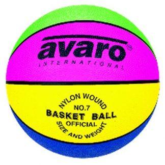 Avaro Standard Nylon Wound Basketball - sizes 3, 5, 6, 7-0