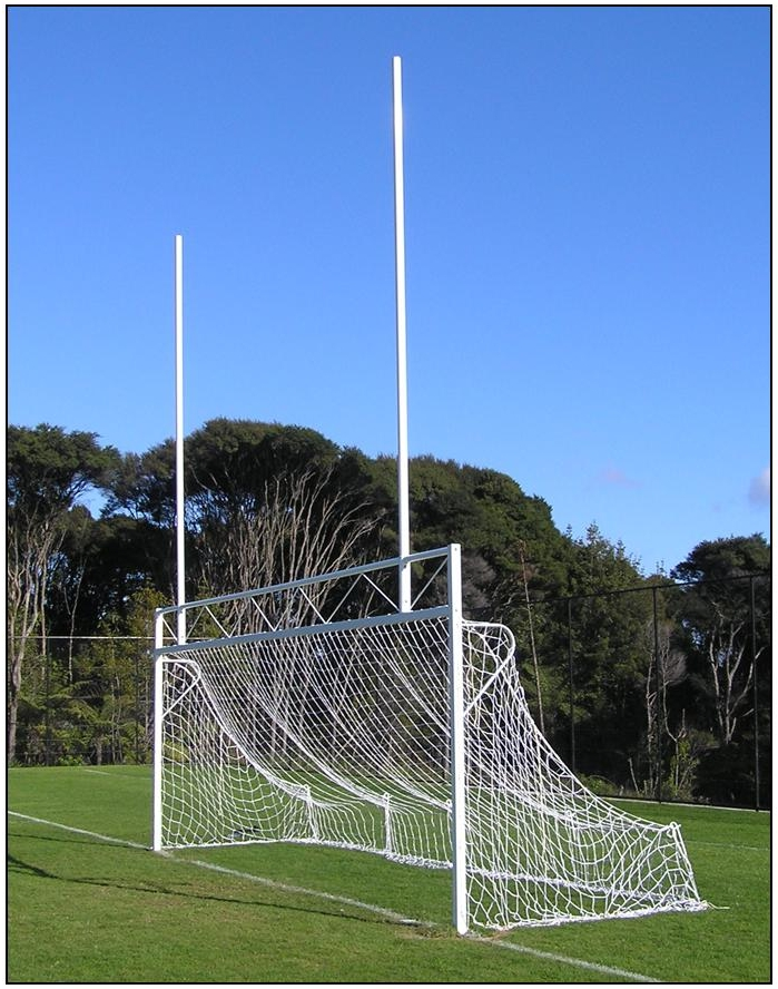 Combo Soccer / Rugby Goals 8.4m-0