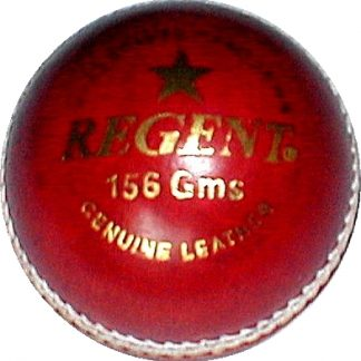 Regent Club Leather Cricket Ball, 156g-0