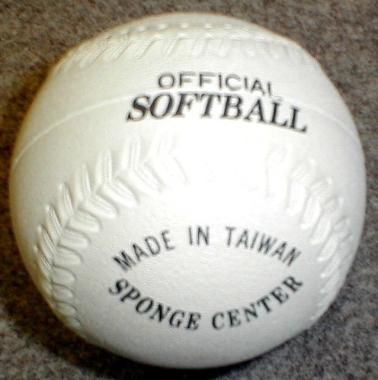 Soft Sponge Softball-0
