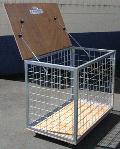 Ball Storage Cart - Lockable-0