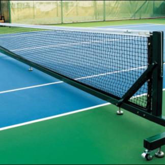 Mobile Tennis Net Frame - Powder Coated Aluminium-0