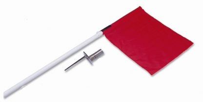 Soccer Corner Flags x 4 with Spring & Peg-0