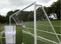 Soccer Net Straps - Large, 20 Pack & Bag-0