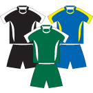 Stratus Sports Uniform Set - Kids, CLEARANCE-3445