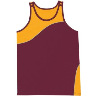 Sports Singlet - Adults & Kids, 8 Colours-0