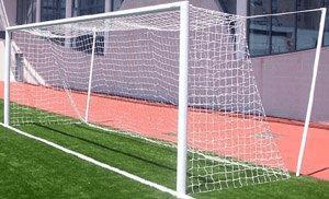 International Soccer Goals - Aluminium, Socketed-0