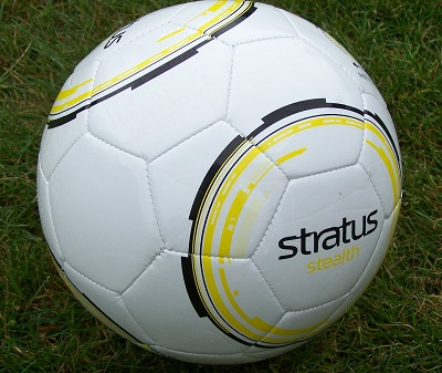 Stratus Stealth Soccer Ball - size 5, 4 & 3-3312