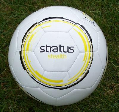 Stratus Stealth Soccer Ball - size 5, 4 & 3-3314
