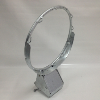Samson Competition Sprung Hoop - Galvanised-0