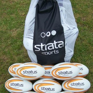 10 x Stratus Extreme Rugby Balls - size 2.5-0