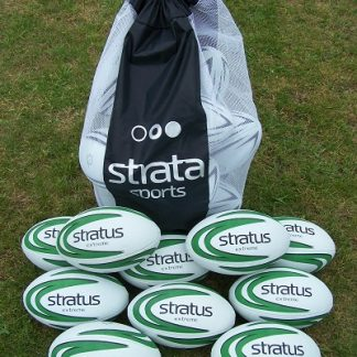 10 x Stratus Extreme Rugby Balls - size 4-0