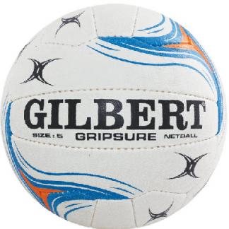 Gilbert Gripsure Netball - Size 5 (indoor)-0
