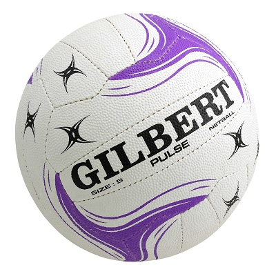 Gilbert Pulse Netball - Size 5 (indoor/outdoor)-0