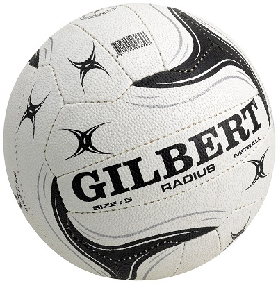 Gilbert Radius Netball - Size 5 (indoor/outdoor)-0