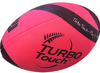 Silver Fern Turbo Touch Ball - size 3.5 pink-0