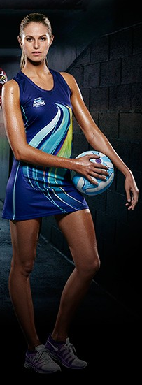 Sublimated Netball Dress - Womens & Girls-3675