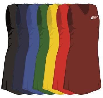 Silver Fern Sport Toi Toi Netball Dress - 7 colours, Womens & Girls-3766