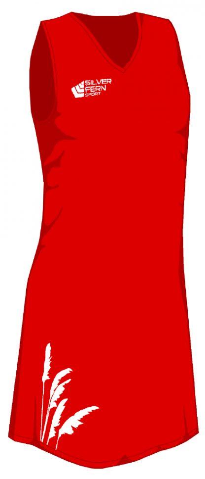 Silver Fern Sport Toi Toi Netball Dress - 7 colours, Womens & Girls-0