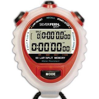 Silver Fern Sport 60 Lap Memory Stop Watch-0