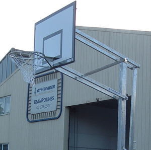 Outdoor Intermediate Basketball Tower Easy Lift Design-0