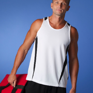 Eureka Singlet - 25 Colour Combinations, mens & kids-0