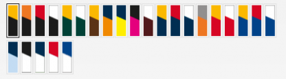 Eureka Singlet - 25 Colour Combinations, mens & kids-3929