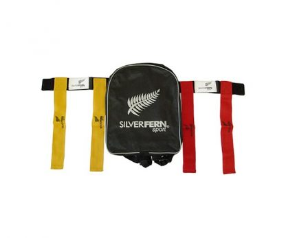 Silver Fern Sport Flag Belt Set with Bag, Junior-0