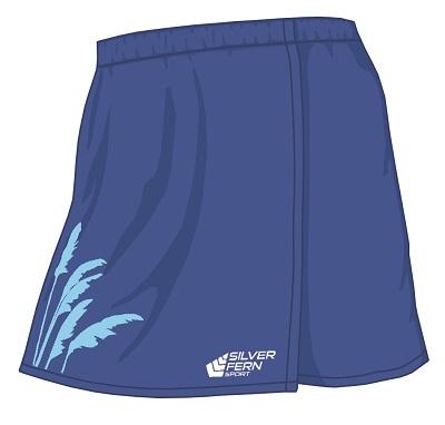 Silver Fern Sport Toi Toi Netball Skirt - 7 colours, Womens & Girls-0