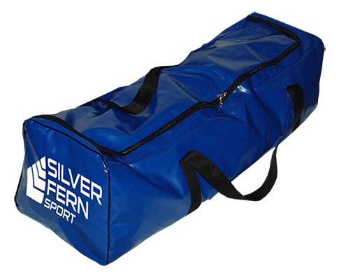 6c957d658fc2 Extra Long PVC Gear Bag - black   blue-0