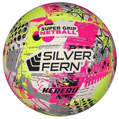 Silver Fern Kereru Netball Size 5 Yellow-0