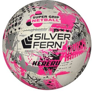 Silver Fern Kereru Netball Size 5 Pink-0