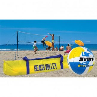 Avaro Beach Volleyball Set - Deluxe-0