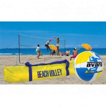 Avaro Beach Volleyball Set - Deluxe-0
