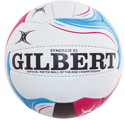 Gilbert ANZ Premiership Synergie Netball - Size 5 (indoor)-0