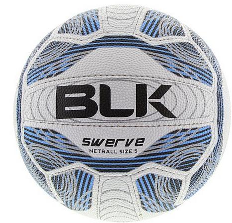BLK Swerve Netball - size 4-0
