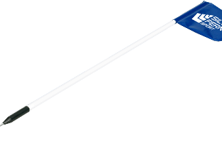 Pole & Spike with Padded Flag - 1.25m-0