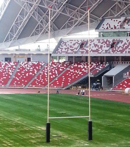aluminium rugby goal posts